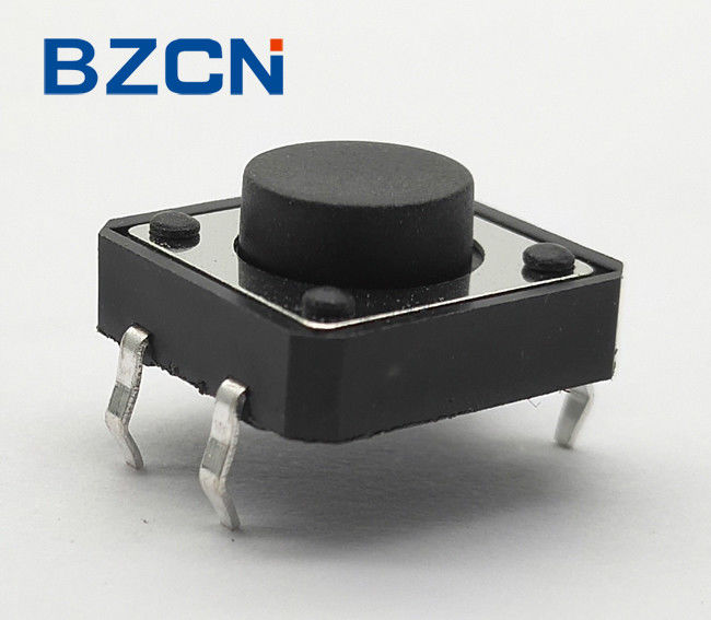 Durable Normally Closed Tactile Switch , 12 Volt Mini Push Button Switch