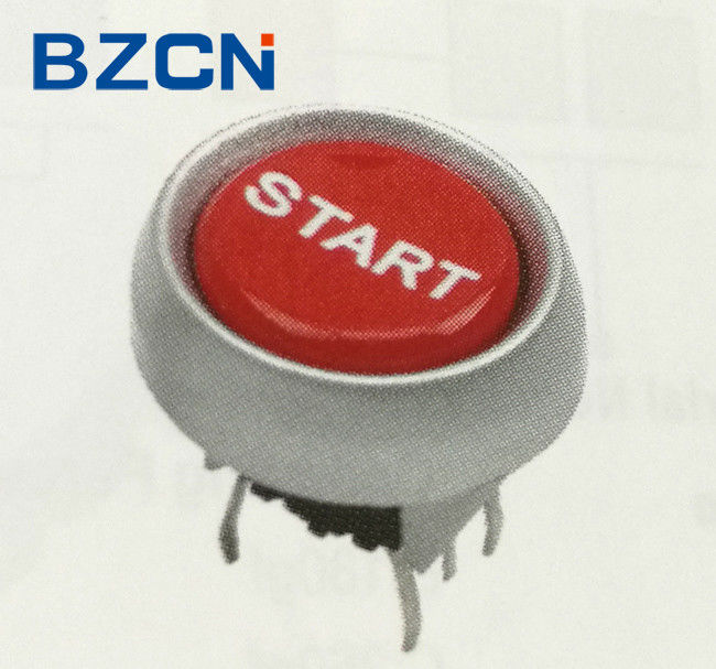 5 Pin LED Tact Switch Red Push Button Momentary Operation For Office Equipment